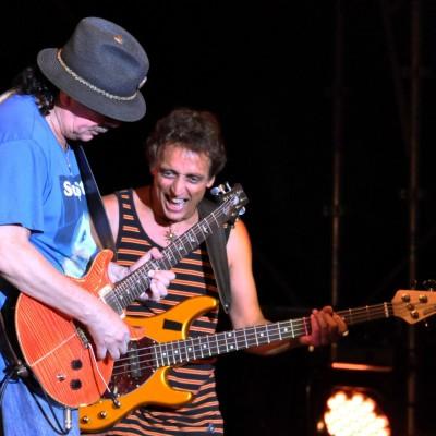 Carlos Santana & Benny Rietveld