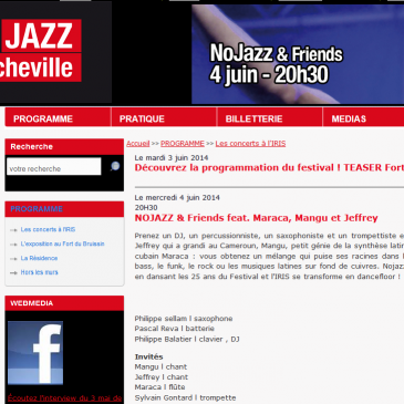 Fort en JAZZ Francheville 2014