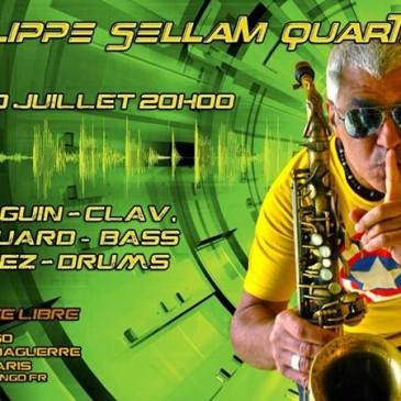 Affiche pour Philippe Sellam Quartet