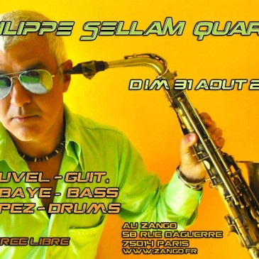 Photo pour affiche Philippe Sellam quartet au Zango – Paris