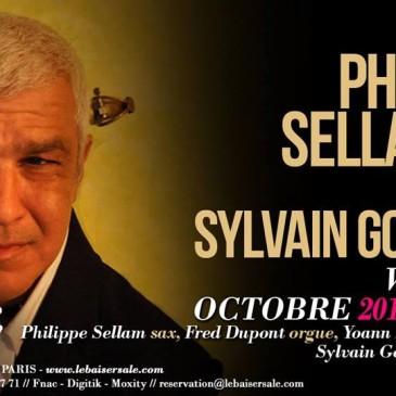 Photo pour affiche Philippe Sellam trio au Baiser salé Paris