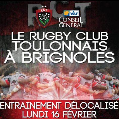 Entrainement du RC Toulon