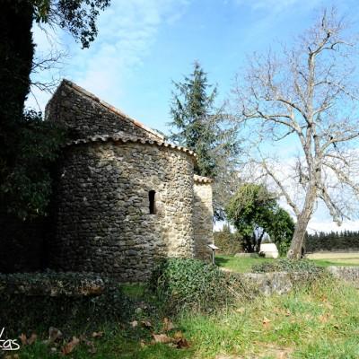 chapelle mérovingienne du 11éme siècle