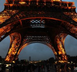 Paris vu de la Tour Eiffel