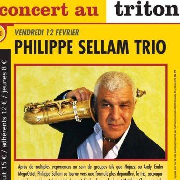 Photo pour l'affiche de Philippe Sellam trio