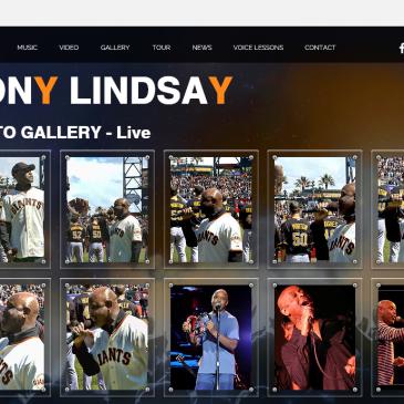 Photo pour le site de Tony Lindsay