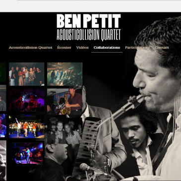 Photos pour le site de Ben Petit