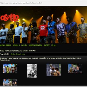 Photos pour le site d' Osemako