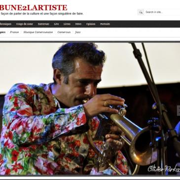 Photos de jazz à Vienne pour T2A