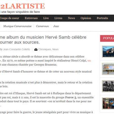 Photo de Hervé Samb pour la Tribune de l' Artiste